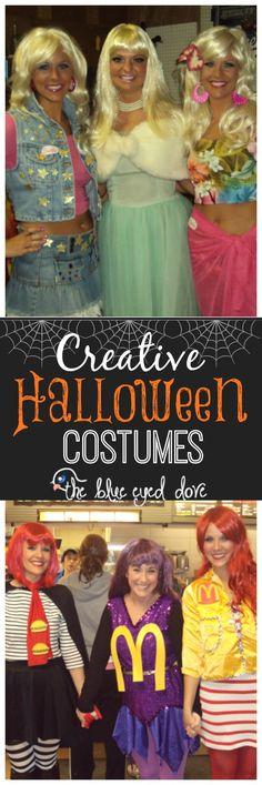 Easy DIY Halloween costumes! theblueeyeddove.com #halloween #costumes