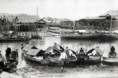 1900s- NATIVE SAMPAN, SINGAPORE