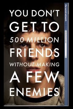 The Social Network (2010) Movie Poster #nmod