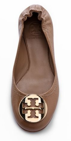 Tory Burch Reva Flats - in search of a great nude flat