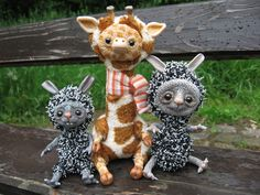 OOAK Handmade Fantasy animals by mam-m-mi