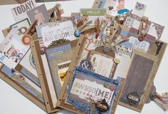 TPHH Simple Stories Awesome Me Boy 8.5x11 Chipboard Scrapbook Album by Khearts1