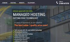 Looking for super-fast & low pricing managed web hosting for your website? It's a great offer for you at Easy.gr. We are the world best Web hosting provider in Greece. We offer premium dedicated servers from quality brands for a competitive price which you can configure to your needs. You can visit our website & get more details about the services, offers and products. Call us at 02106147370.