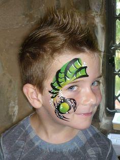 Face Painting For Boys, Boy Face, Flower Fairies, Facial, Sugar Skull, Face And Body, Masquerade, Body Art, Ps