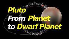 Argumentation/Cause and Effect. Why Pluto went from Planet to Dwarf Planet. (Cause: IAU convened to decide definition of planet; Effect: Pluto is no longer considered a planet) Pluto Dwarf Planet, Dragon Youtube, Digital Text, Space And Astronomy, Cause And Effect, Astrophysics, Star Citizen, Explain Why, Solar System