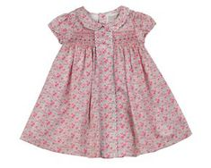 Phlona Girls' Adorable hand smocked dress, made of high quality cotton satin material, very soft and won't hurt your baby's skin, perfect for Easter, Spring, Summer Occasion. Size 6 Months - 5/6 Years.