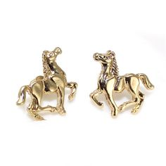 Fashion Horse Earrings Jewelry For Women Gold/Silver Plated Horse Earring Studs Jewelry Earrings Cavalo Brincos Pendientes
