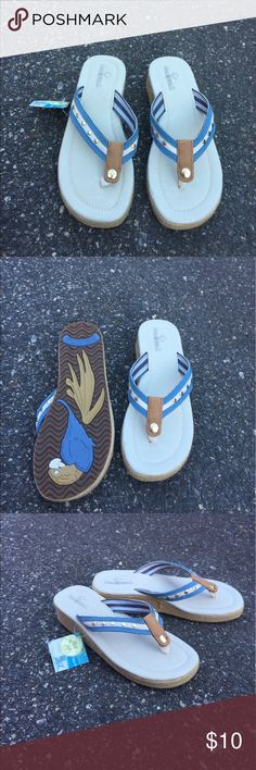 Margaritaville flip flops Size 8, ships today💕 Urban Outfitters Shoes Sandals