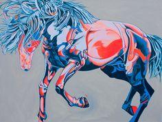 Horse Art :Enamorrado #Saatchi Art #Artist #Yaheya Pasha #Painting #art #equestrian #horse #equine