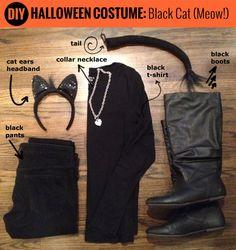 DIY Halloween Costume | Black Cat! | Life As Wiggle #halloween #costume #blackcat