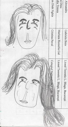 2 girls doodles