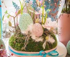Pastel, Spring, Cake, Crayon Art, Melting Crayons
