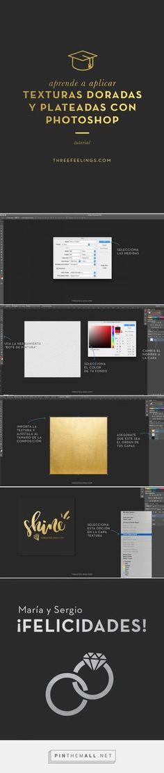 Golden Texture on Photoshop. APLICA TEXTURAS DORADAS CON PHOTOSHOP: