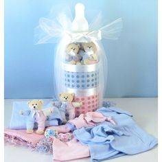 Giant Baby Bottle Bank – Baby Twin Gift