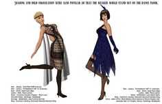 Vain Inc. Magazine - Roaring 20s-Pg7&8 by Ketsy Forager, via Flickr