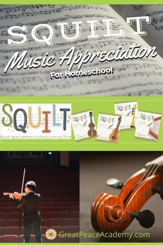 Music Appreciation for Homeschool is Easy with SQUILT Homeschool High School, Homeschool Curriculum, Homeschooling, Teaching Music, Teaching Tools, Music For Kids, Good Music, Gifted Kids, Creative Thinking