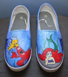 Custom Painted Disney Shoes