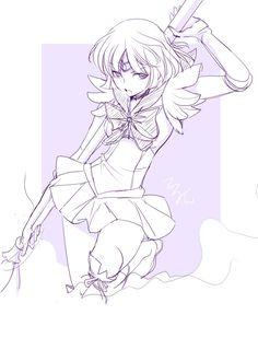 sailor Saturn by *Terytan on deviantART ///// www.moiselias.com