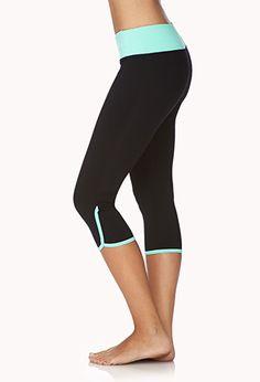 Skinny Workout Capris | FOREVER 21 - 2040495666