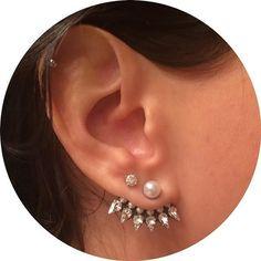DANNIJO Belinda Ear Jacket earrings