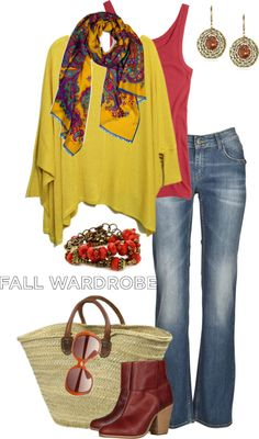 """""""Fall in Provence"""" by simple-wardrobe ❤ liked on Polyvore"""