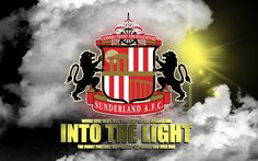 Sunderland AFC into the light #safc #graphics