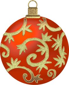 large red ornament clipart christmas clip art pinterest