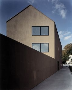 SUBTILITAS Morger & Degelo - Singeisenhof hosuing, Riehen 2001. Photos © Ruedi Walti.