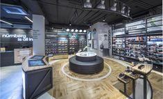 Дизайн магазина Adidas HomeCourt в Германии