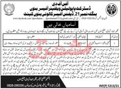 Population Welfare Department Jobs 2021 for Family Welfare Assistant