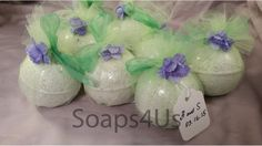 12 Pack Bath Bombs. Gift Set. Bath Bomb party favors by Soaps4Us