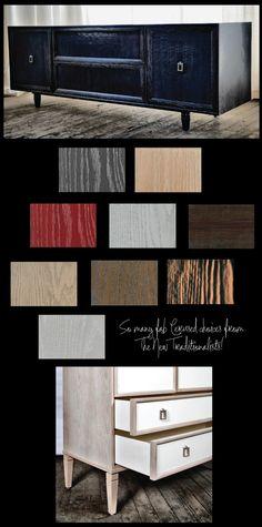 Inspiration: Cerused-Oak - mixed mediums...