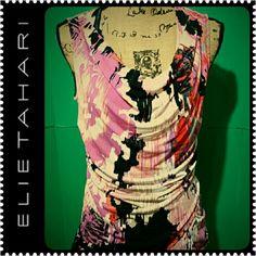 Tahari Sleeveless Ladies Top NWOT Unique Pattern Design by Tahari, Sleeveless Top to Go With Solid Color Blazer,  NEW Tahari Tops