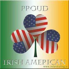 Proud Irish American - Ireland Calling FB