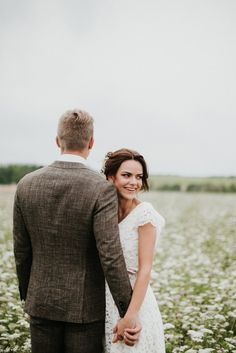 Wedding photos at forest and countryside fields.