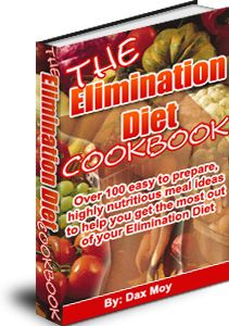 food and allergy elimination diet cook book