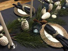 Advents-/juleverksted - inspirasjon til borddekking - med en sprudlende Blomsterlise