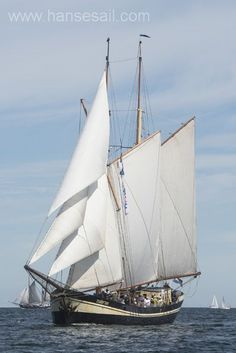 Traditional Sailing Ship Zuiderzee at Hanse Sail Rostock