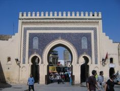 Fez, Morocco.  http://www.worldheritagesite.org/sites/fez.html