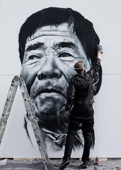 The Incredible - and Enormous - Public Portraits of Hendrik Beikirch.