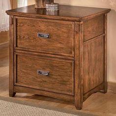 Cross Island 2 Drawer Lateral File Cabinet | Nebraska Furniture Mart