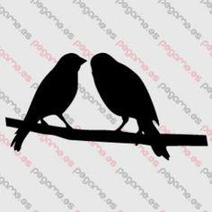 Pegame.es Online Decals Shop  #animal #couple #bird #vinyl #sticker #pegatina #vinilo #stencil #decal