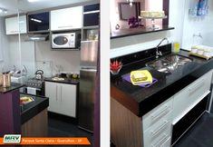 https://flic.kr/p/mbxxPT | Apartamentos MRV em Guarulhos: Parque Santa Clara | Apartamento decorado 2 dormitórios do Parque Santa Clara no o bairro Cumbica - Guarulhos - SP - MRV Engenharia - Cozinha