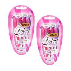 En Walgreens puedes conseguir la rasuradora Bic Soleil Triple Blade de 4 ct a $6.79 regularmente. Compra (2) y utiliza (2) cupones manufactu..