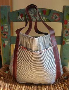 Kids Mini Market Tote Bag// Made to Order. $32.00, via Etsy.