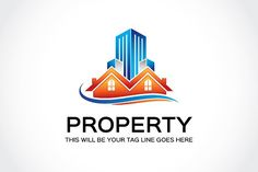 Property Logo Template by Mudassir101 on @creativemarket