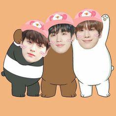 Kim Min Gyu, Twitter Video, Kdrama Memes, We Bare Bears, Songs To Sing, Thug Life, Kpop Boy, To My Future Husband, Funny Cute