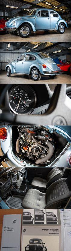 1974 VW Beetle / Käfer Kever / Germany / blue / barnfind / < 100 km / Volkswagen / www.autoblog.nl