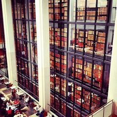 The British Travel Bucket List For Booklovers: The British Library at St. Pancras, London. #reading #books #britain