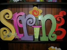 easy painted letters